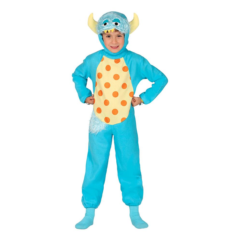 Monster Jumpsuit Barn Maskeraddräkt - 5-6 år