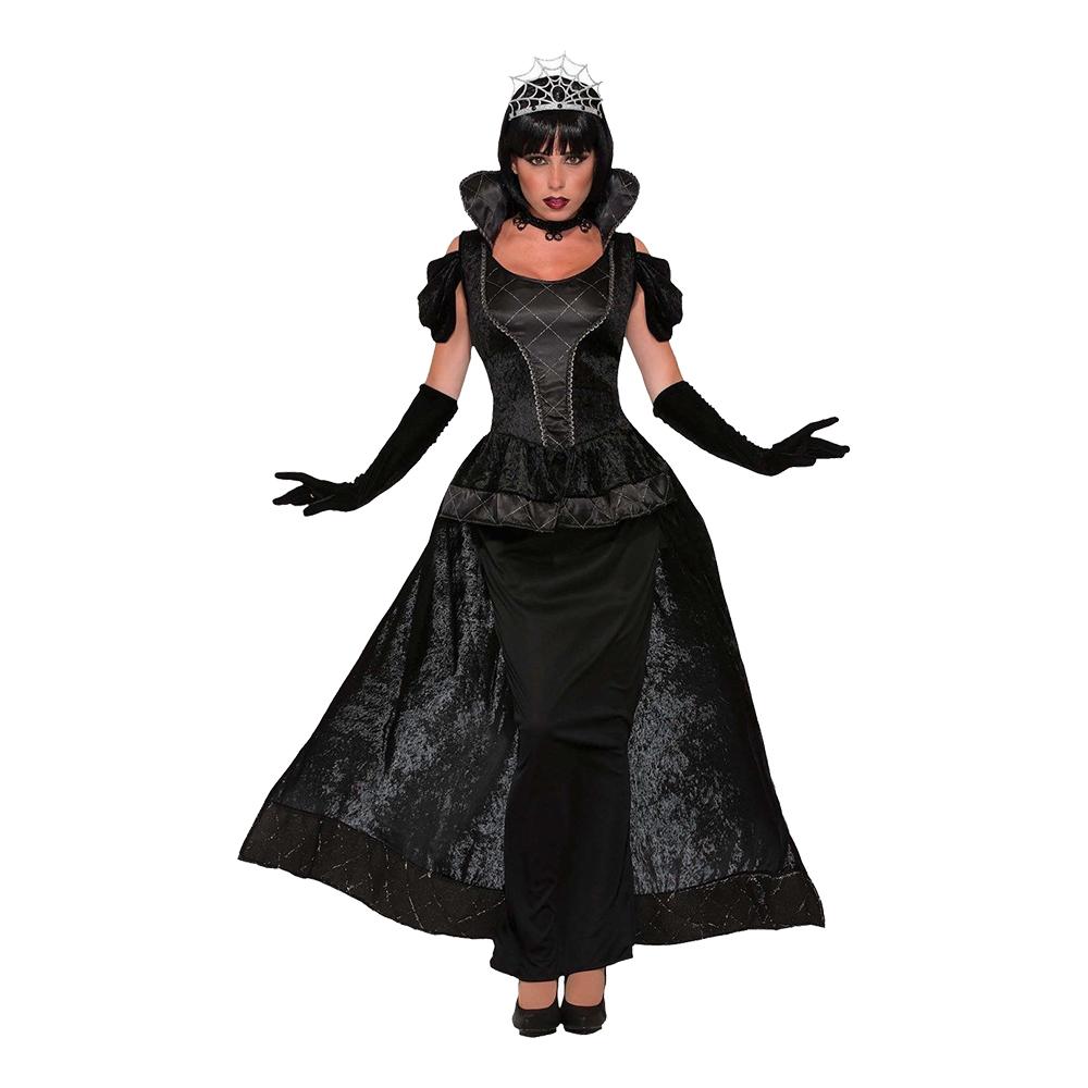 Mörk Drottning Maskeraddräkt - One size