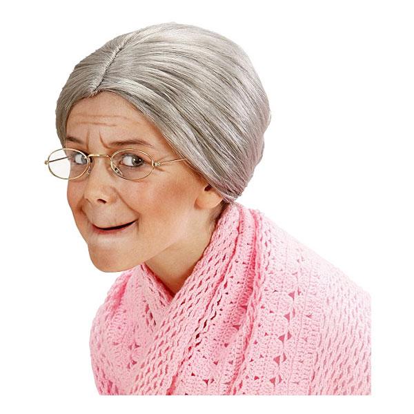 Mormor Peruk - One size
