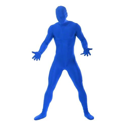 Morphsuit Blå Maskeraddräkt - Large