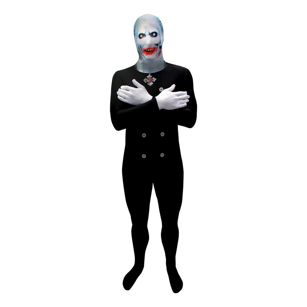 Morphsuit Dracula Maskeraddräkt - X-Large