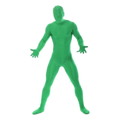 Morphsuit Grön Maskeraddräkt - Large