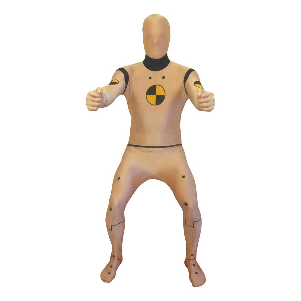 Morphsuit Krocktest Docka Maskeraddräkt - Large
