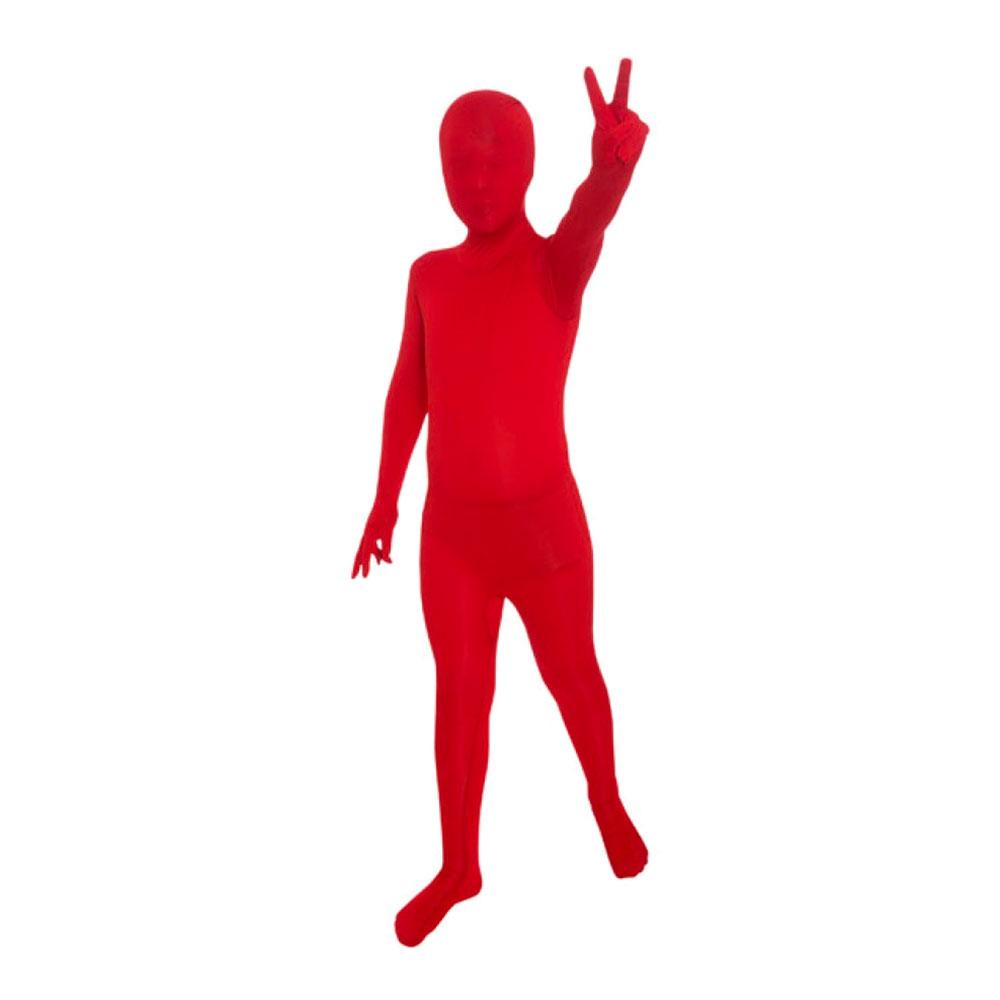 Morphsuit Röd Barn Maskeraddräkt - Small