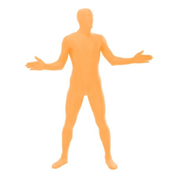 Morphsuit UV-Orange Maskeraddräkt - Large