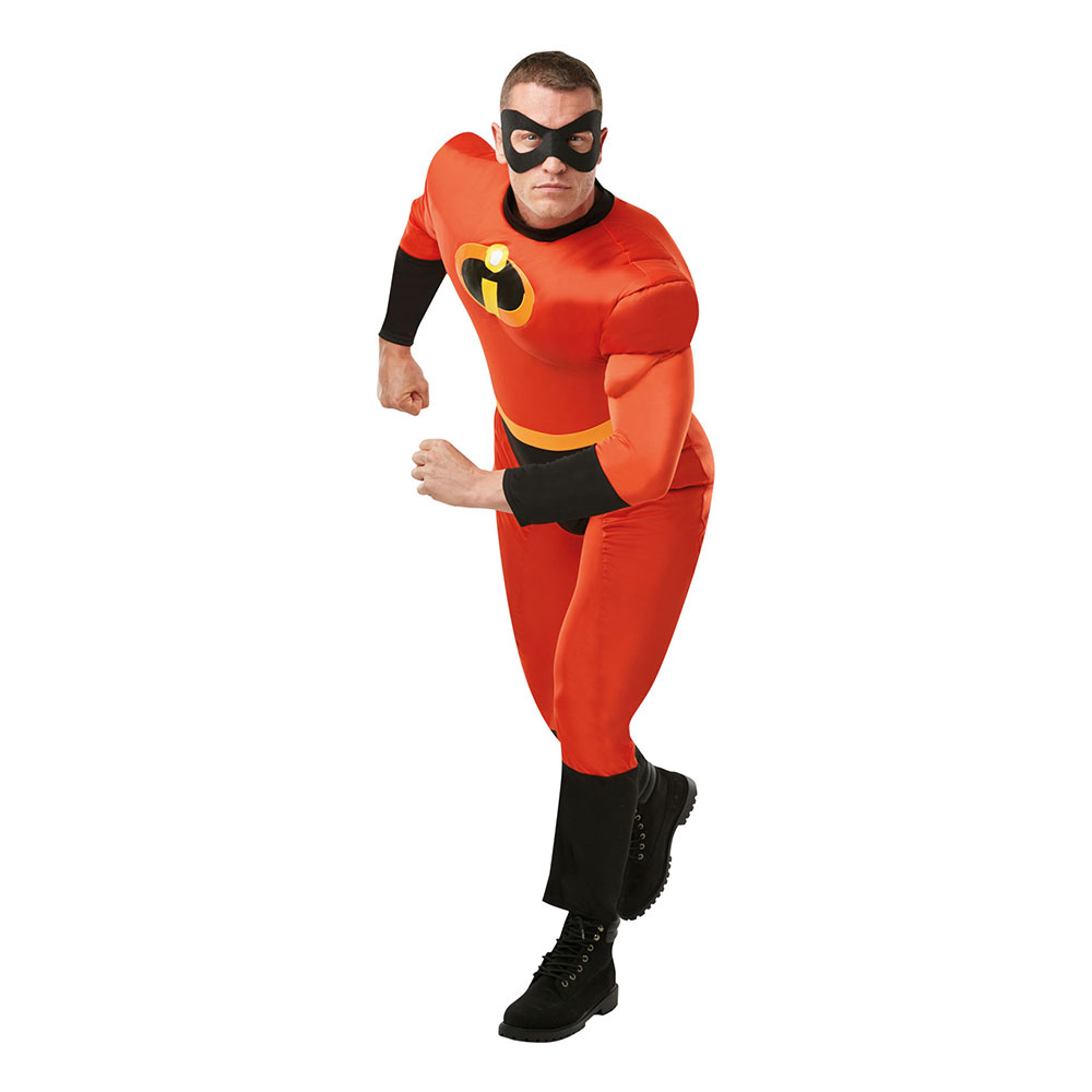 Mr Incredible Deluxe Maskeraddräkt - Standard