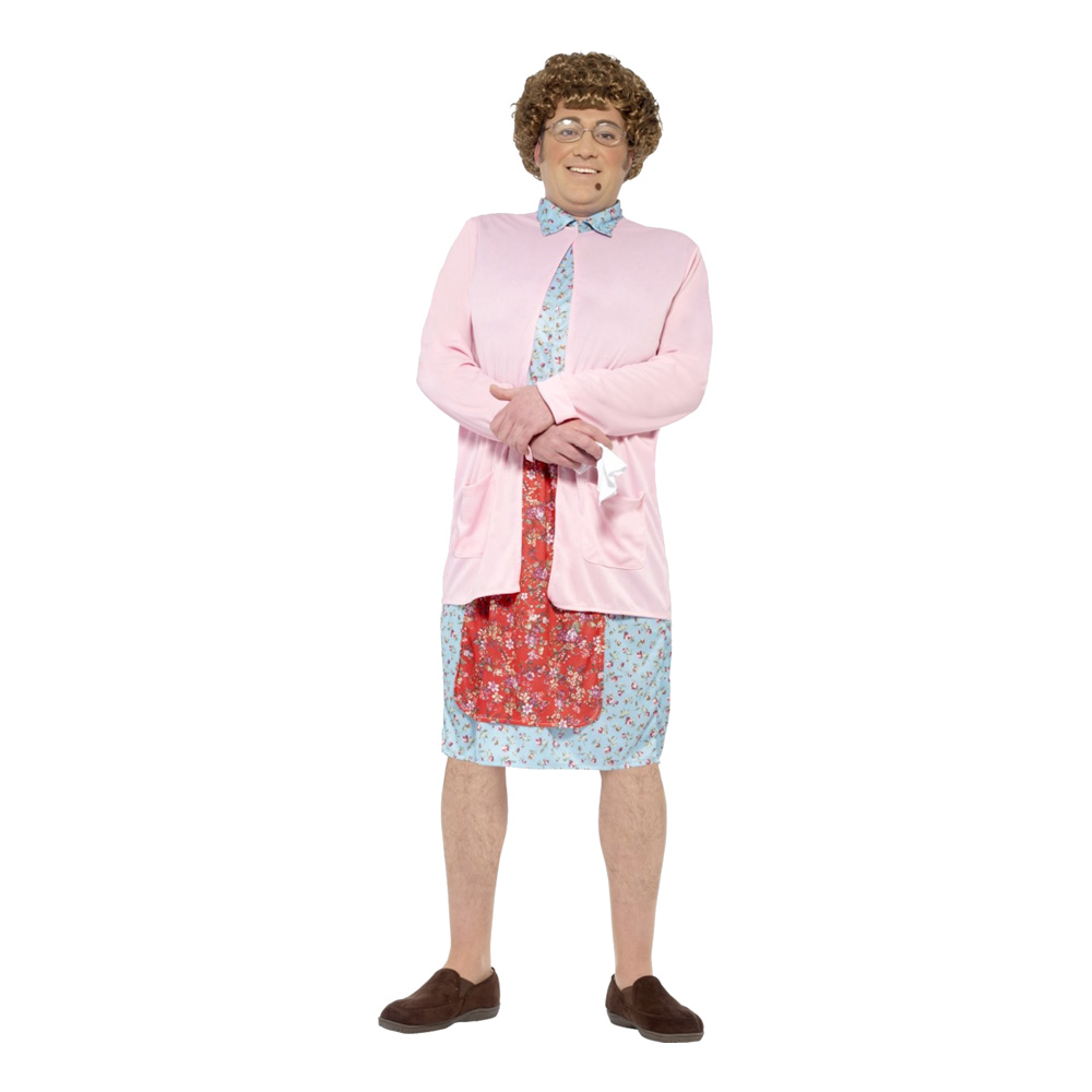 Mrs Brown Maskeraddräkt - Large