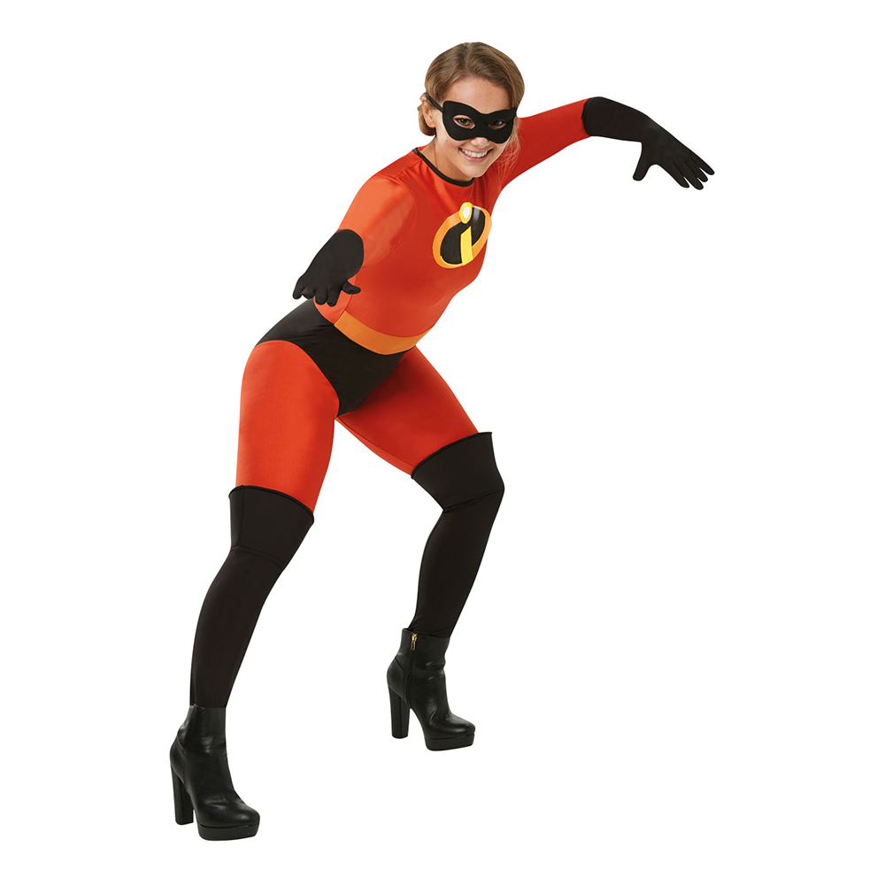 Mrs Incredible Maskeraddräkt - Small