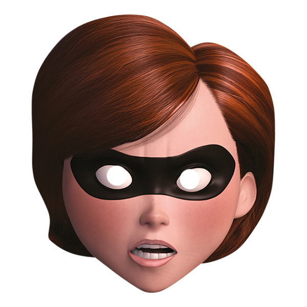 Mrs Incredible Pappmask