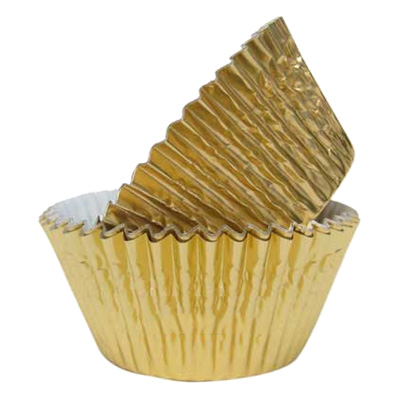 Muffinsformar Guld - 45-pack