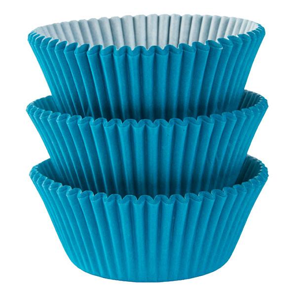 Muffinsformar Turkos - 75-pack