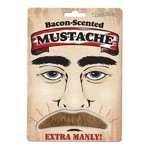 Mustasch med Baconlukt