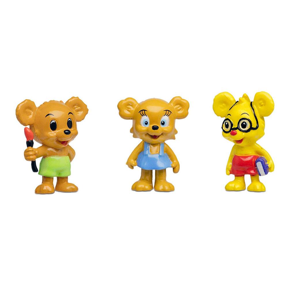 Nalle-Maja, Brum & Teddy Figurset Bamse