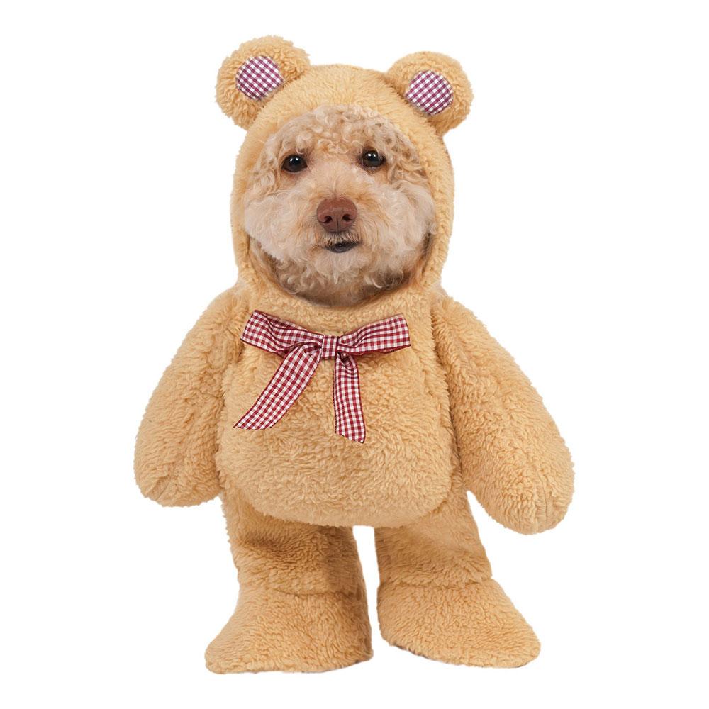 Nallebjörn Hund Maskeraddräkt - X-Small