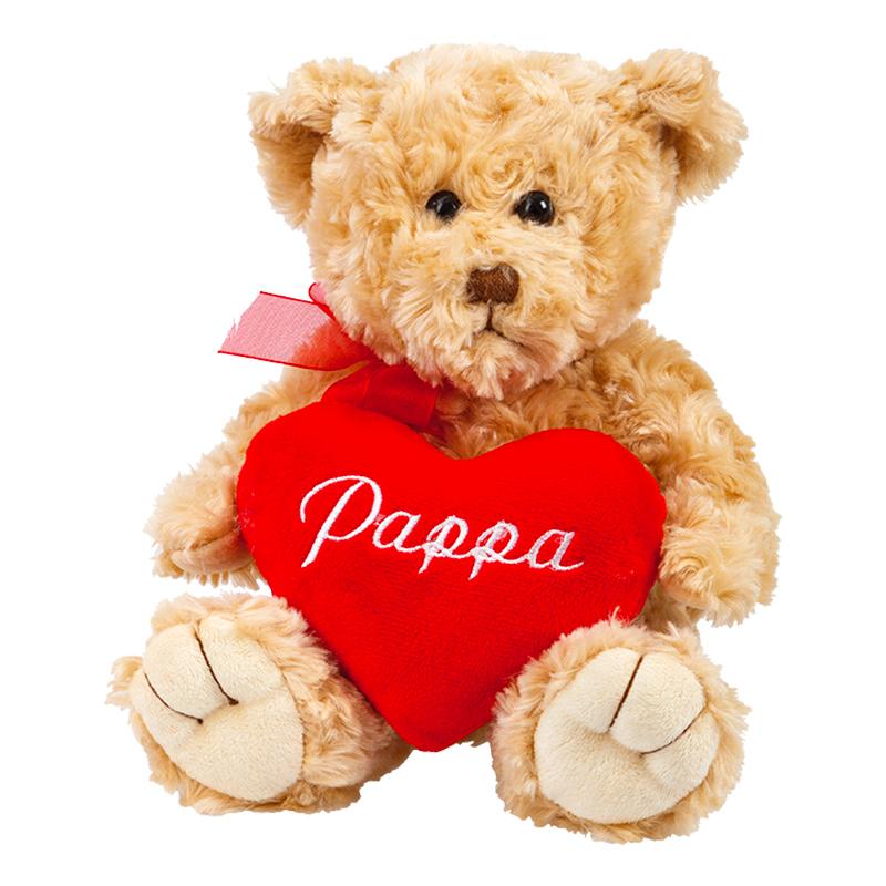 Nallebjörn med Hjärta Pappa