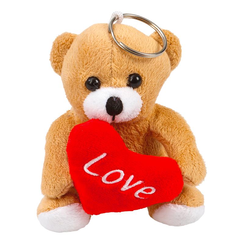 Nallebjörn med Nyckelring