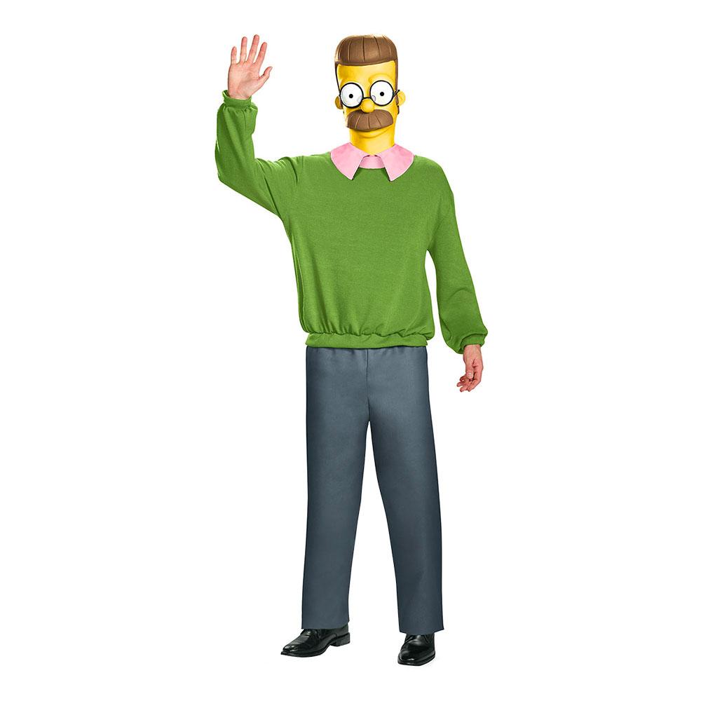 Ned Flanders Maskeraddräkt - X-Large