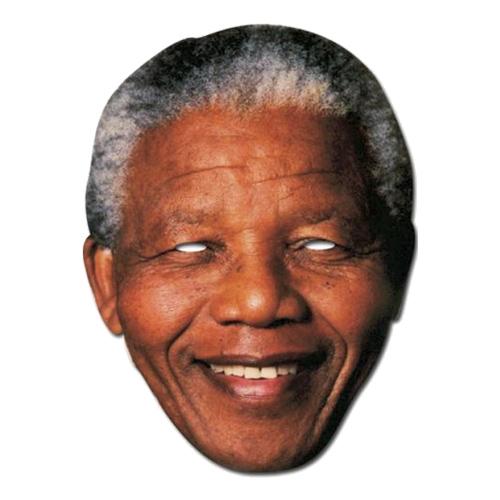 Nelson Mandela Pappmask - One size
