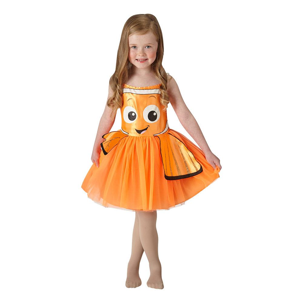 Nemo med Kjol Barn Maskeraddräkt - X-Small