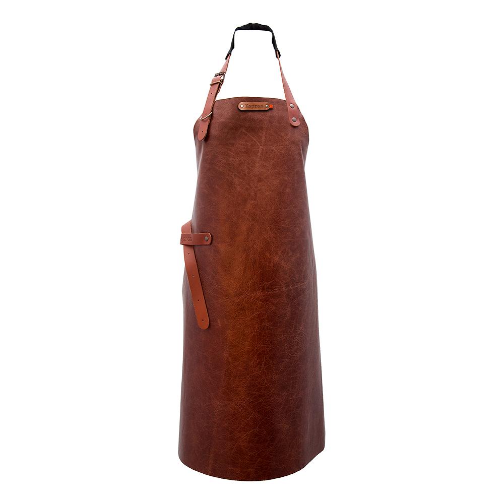 New York Förkläde Koskinn Cognac - 74 cm