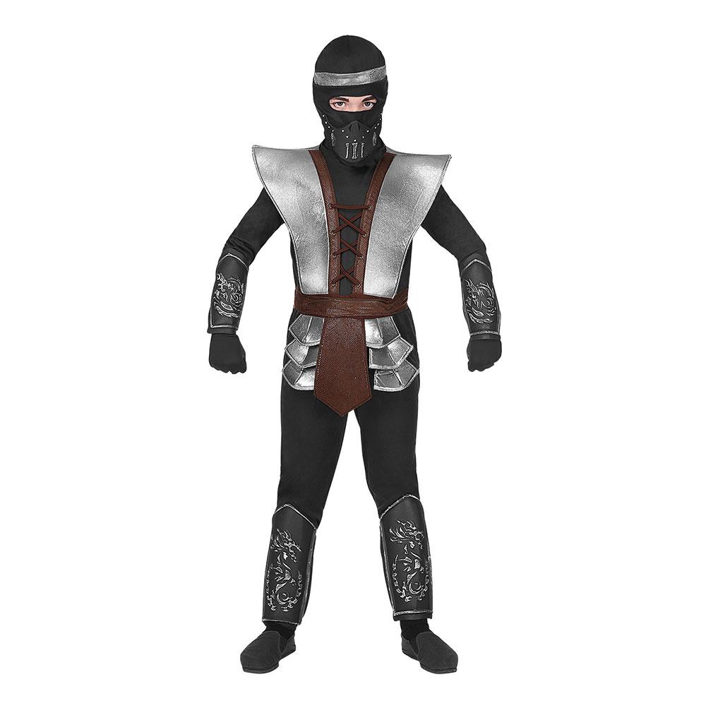 Ninja Halloween Barn Maskeraddräkt - Small