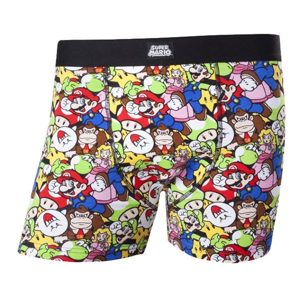 Nintendo Super Mario Boxers - Small