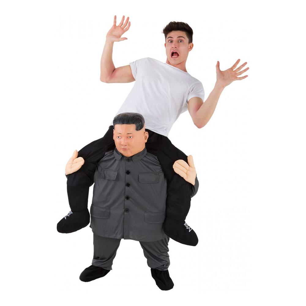 Nordkoreansk Diktator Ridande Maskeraddräkt - One size