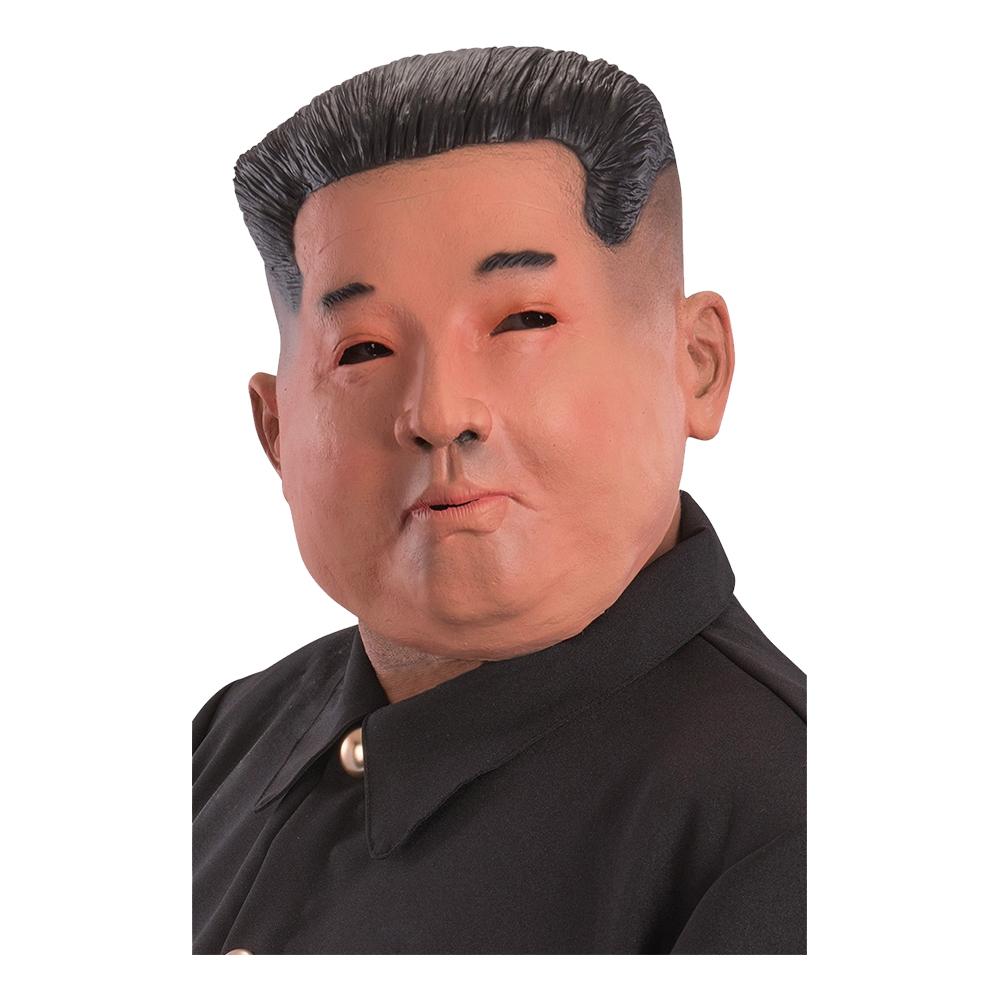 Nordkoreansk Ledare Latexmask - One size