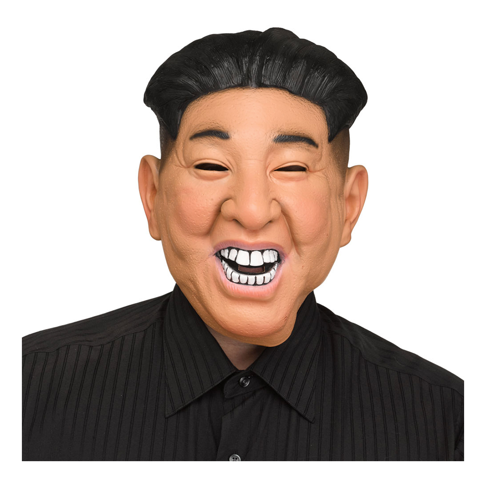 Nordkoreansk Ledare Mask - One size