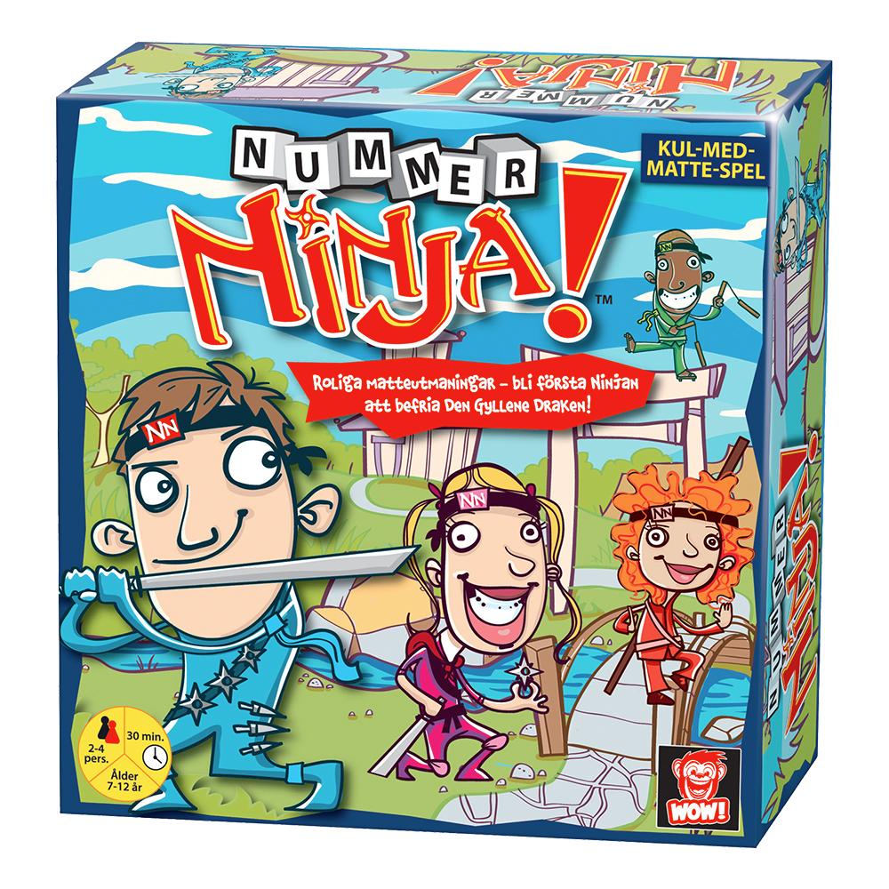Nummer Ninja Spel