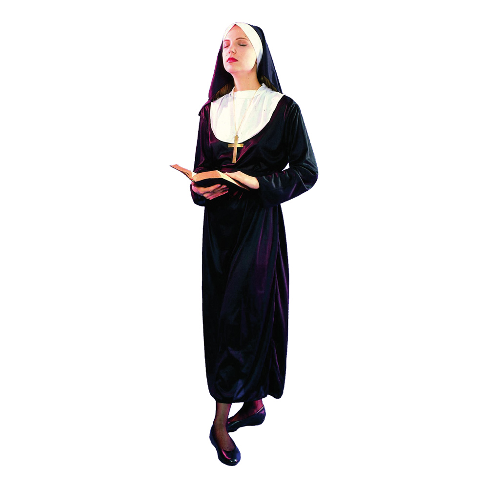 Nunna Klassisk Maskeraddräkt - One size
