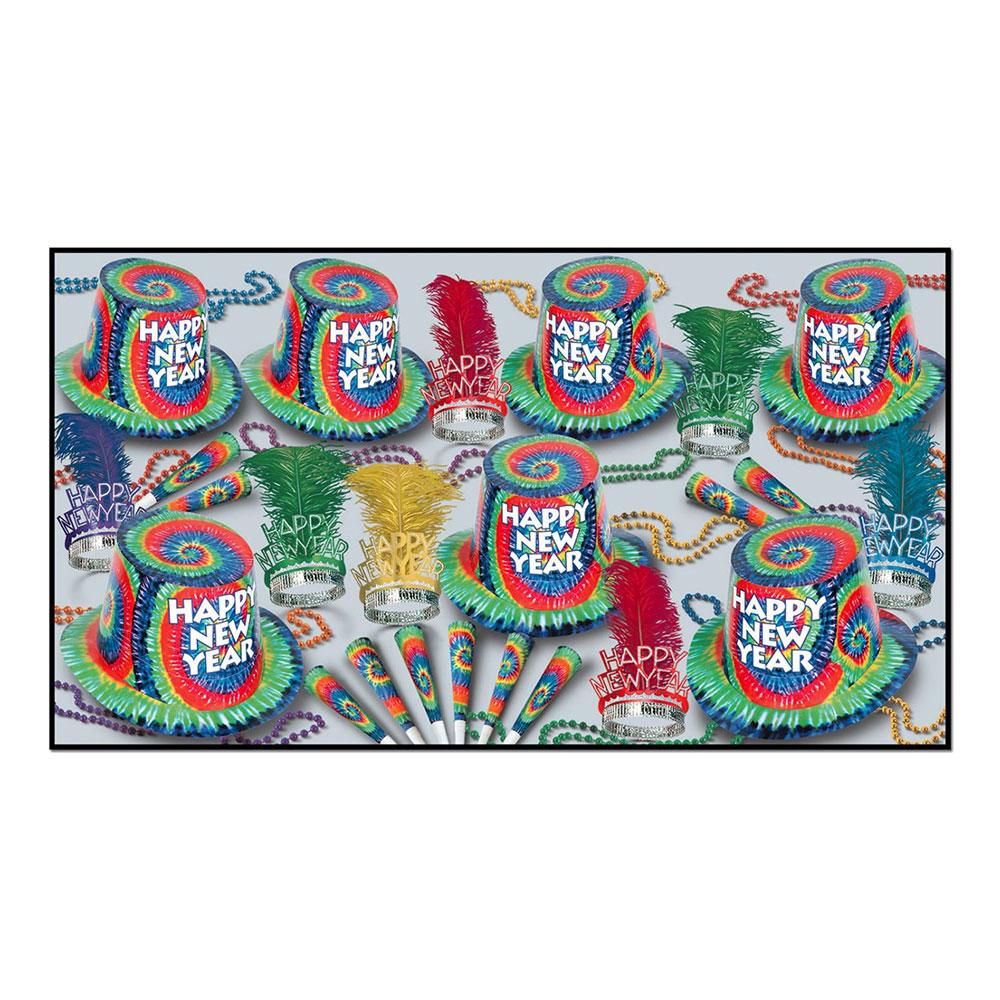 Nyårskit Happy New Year Tie-Dye