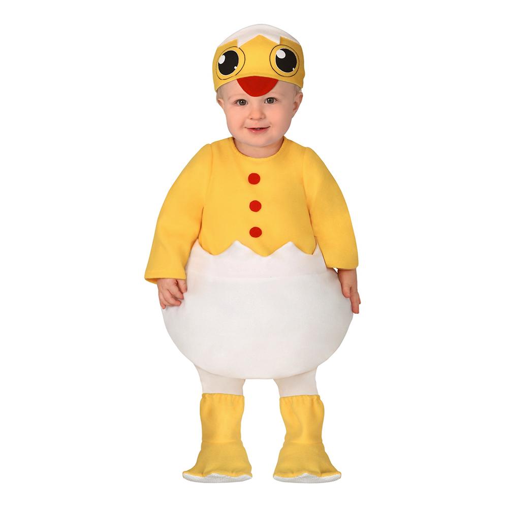 Nykläckt Kyckling Bebis Maskeraddräkt - 6-12 månader
