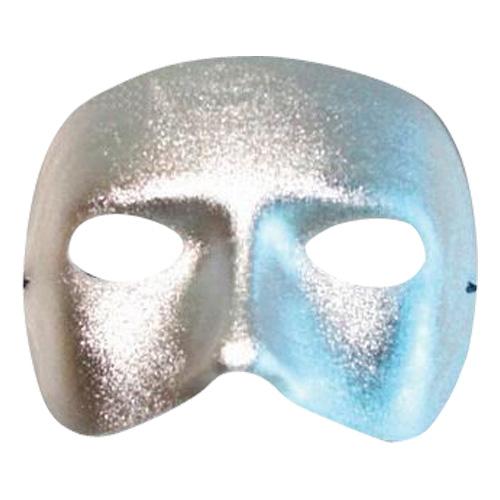 Halvmask - Silver