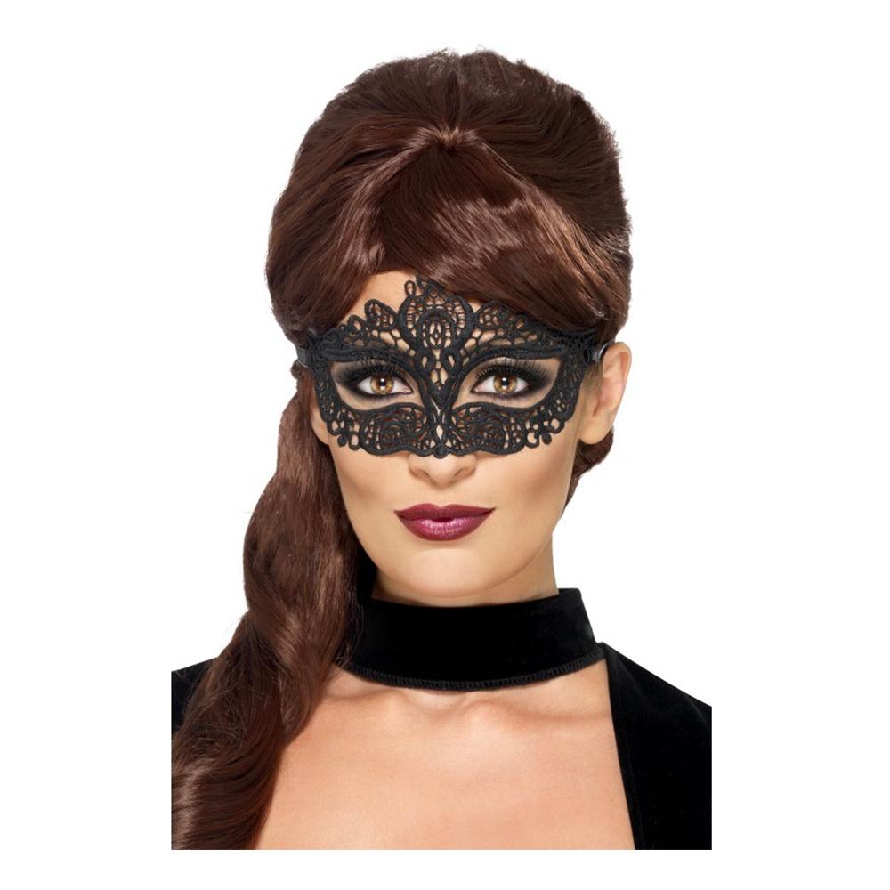 Ögonmask Filigree Svart - One size
