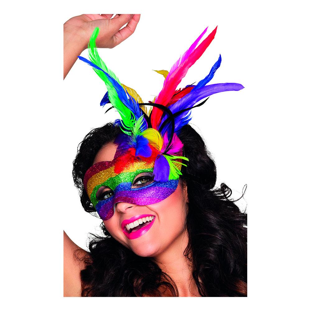 Venetiansk Ögonmask Pride - One size