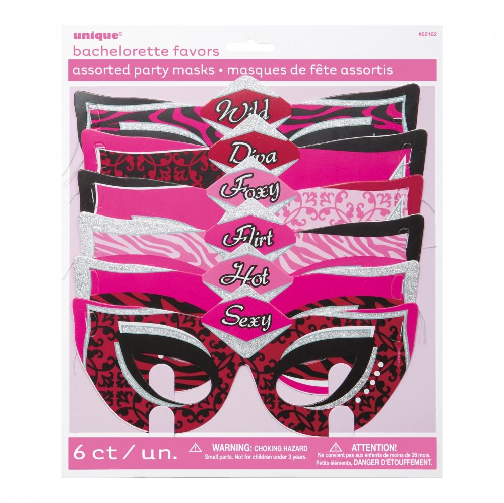 Ögonmasker med Text - 6-pack