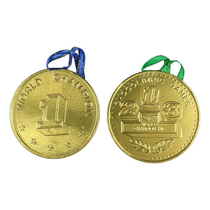Olympisk Medalj i Choklad