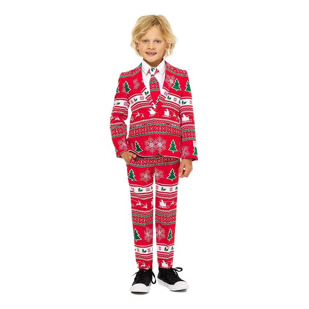 OppoSuits Boys Winter Wonderland Kostym - 92 98 5743f0f122c19