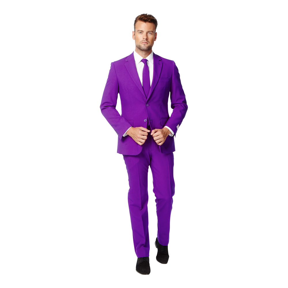 OppoSuits Purple Prince Kostym - 46