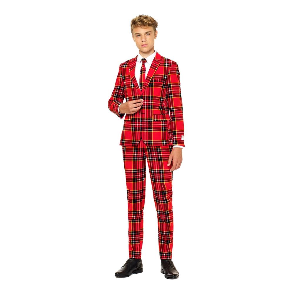 OppoSuits Teen The Lumberjack Kostym - 134/140