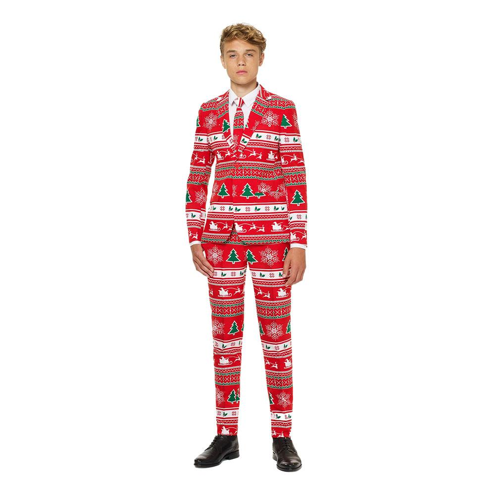 OppoSuits Teen Winter Wonderland Kostym - 134/140