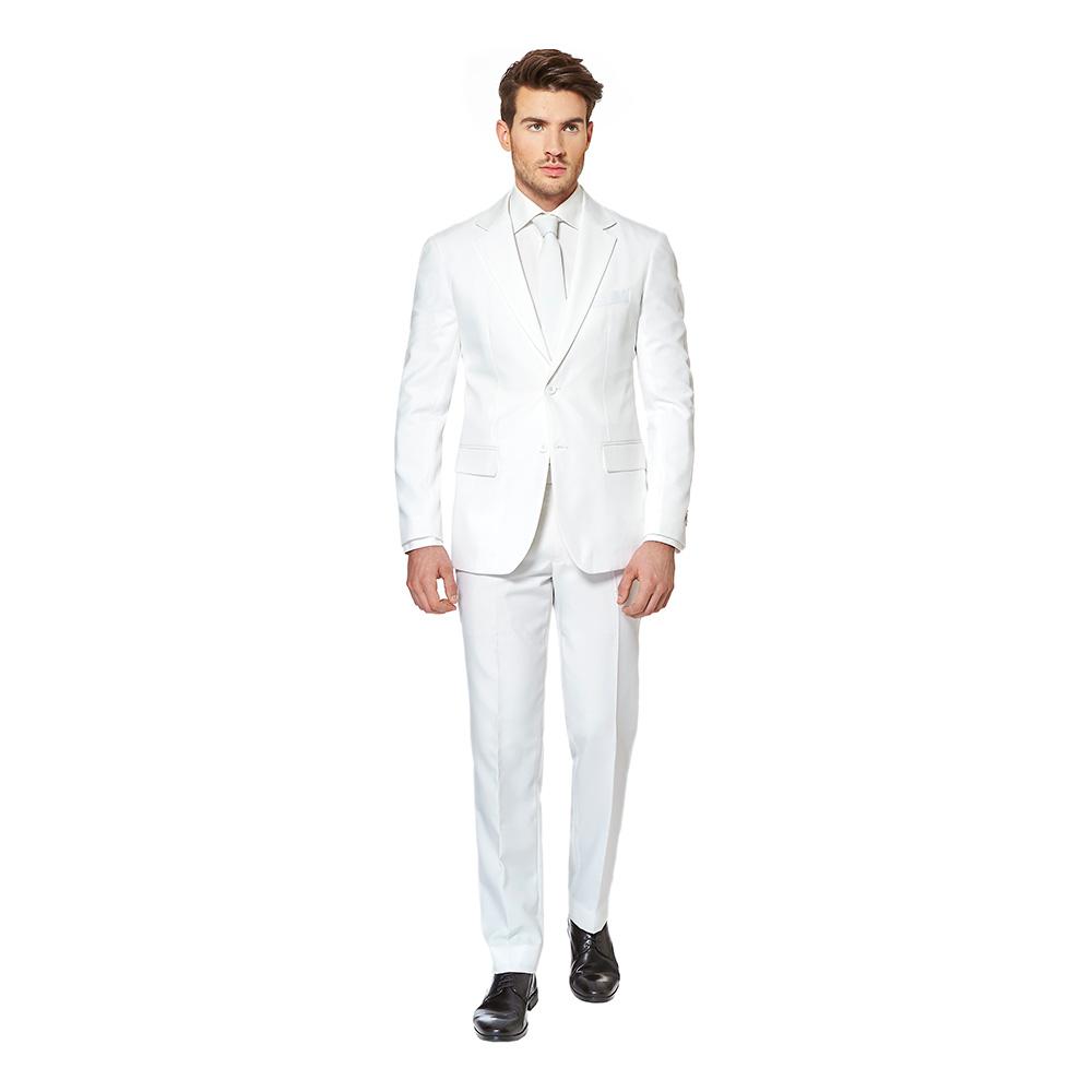 OppoSuits White Knight Kostym - 46