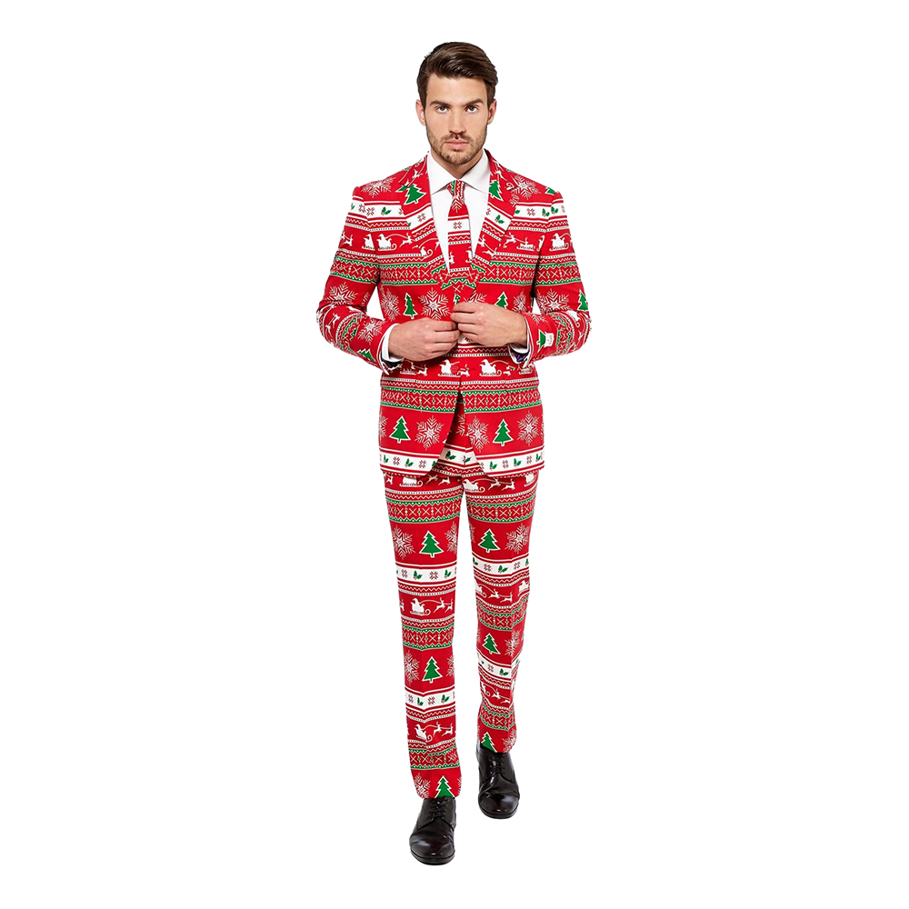 OppoSuits Winter Wonderland Kostym - 46