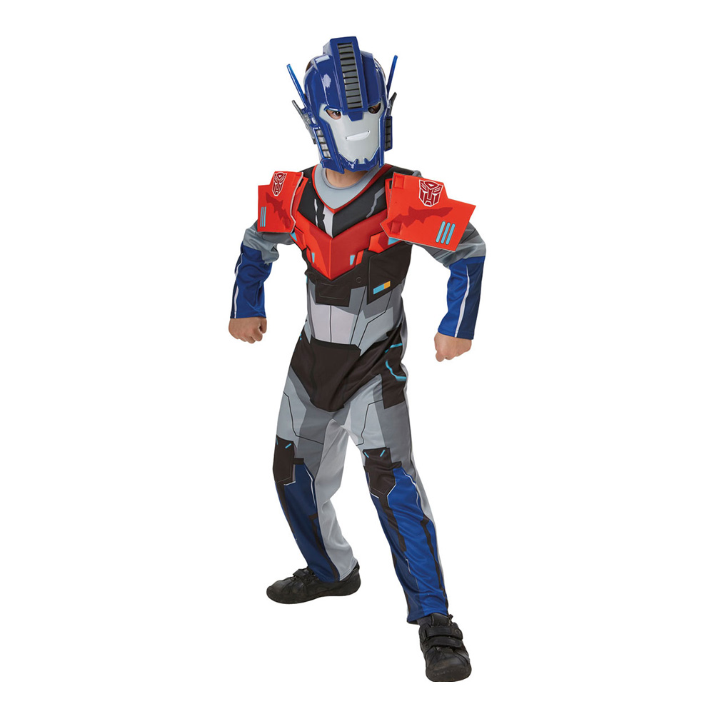 Optimus Prime Deluxe Barn Maskeraddräkt - Small