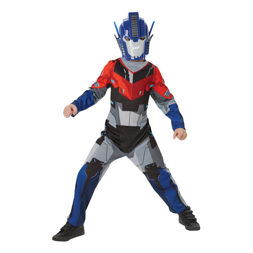 Optimus Prime Klassisk Barn Maskeraddräkt - Medium