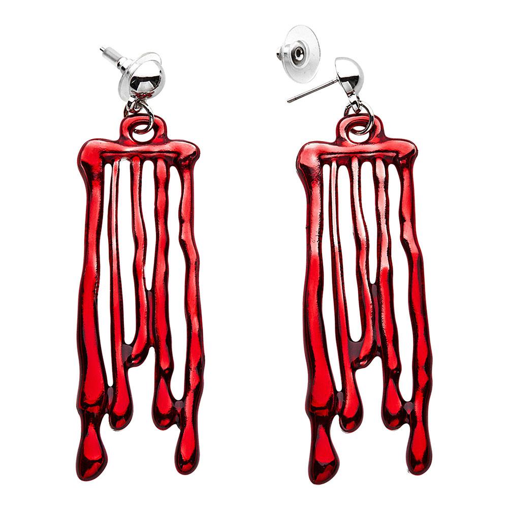 Örhängen Rinnande Blod