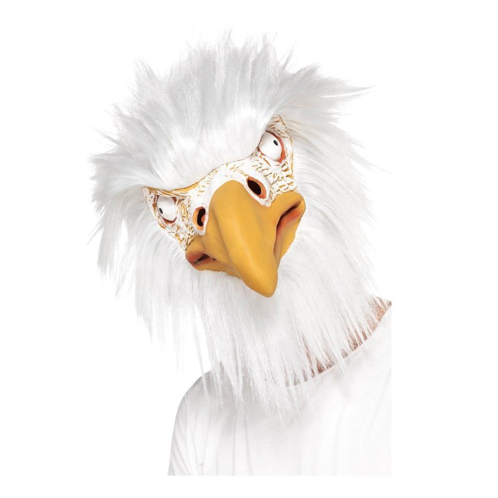Djurmasker - Örnmask Vit - One size