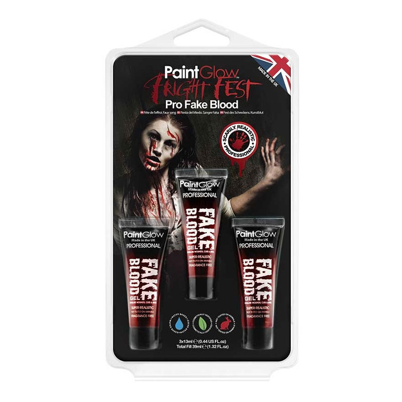 PaintGlow Fright Fest Blodgel Pro Kit