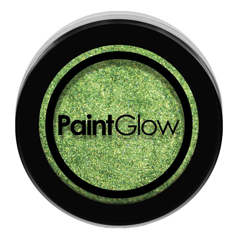 PaintGlow Nagelglitter - Grön